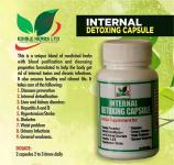 Internal detoxing capsule, edible herbs ltd
