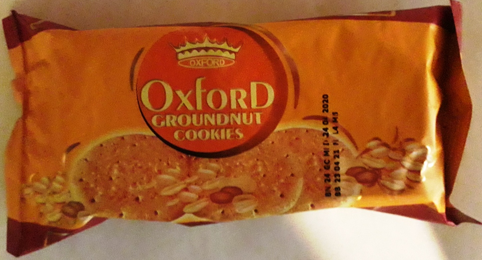 Oxford groundnut cookies